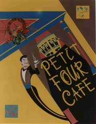 Petit Four Cafe, a Graphic Design by Tim Darnell